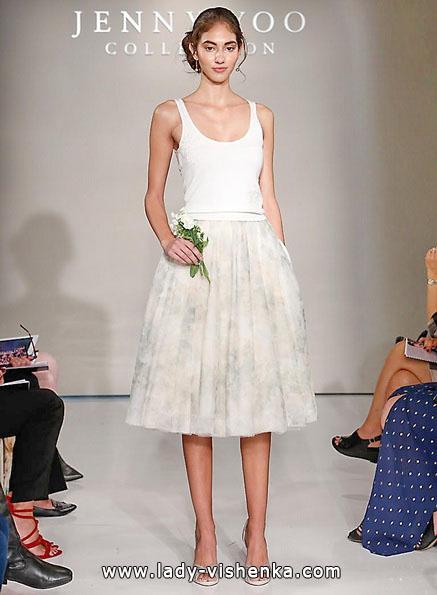Коротке весільне плаття фото 2016 - Jenny Yoo