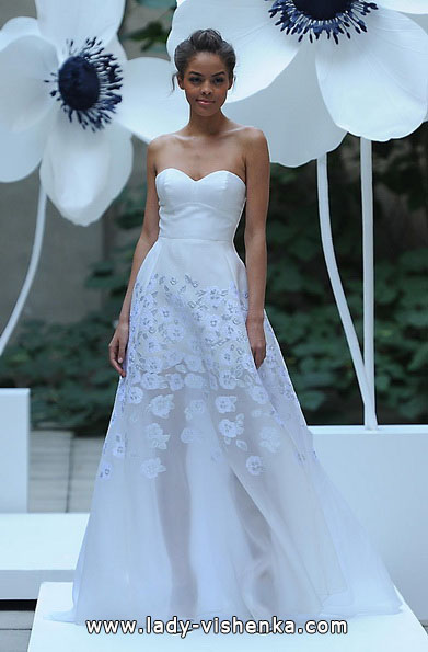 Весільні сукні короткі 2016 фото - Lela Rose