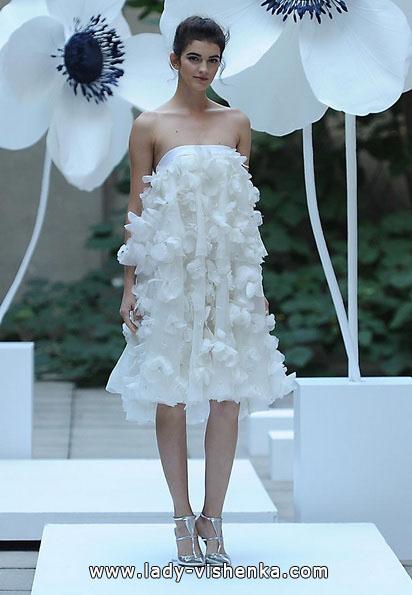 Короткі весільні сукні для вагітних 2016 - Lela Rose