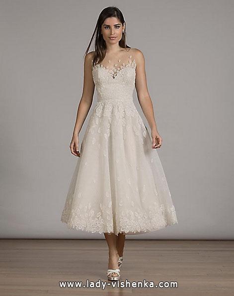 Короткі весільні сукні 2016 - Liancarlo