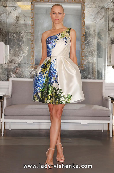 Короткі весільні сукні 2016 - Romona Keveza