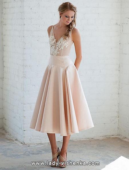 Короткі весільні сукні 2016 - Tara LaTour