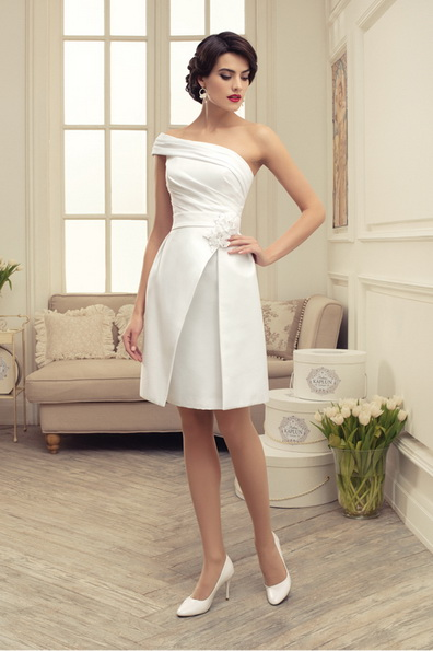 Красиве коротке весільне плаття 2016 - Tatiana Kaplun