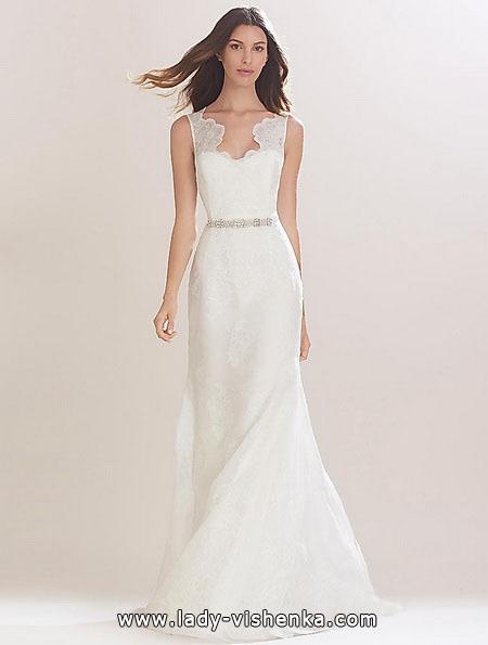 Просте весільну сукню фото - Carolina Herrera