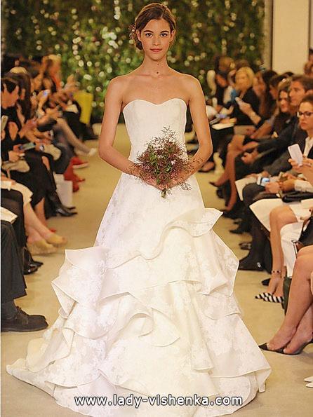 Прості весільні сукні фото - Carolina Herrera