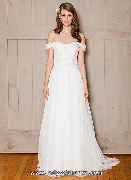 Просте весільну сукню 2016 - david's Bridal