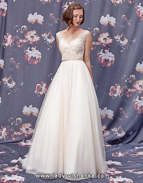 Просте весільну сукню 2016 - Ivy & Aster