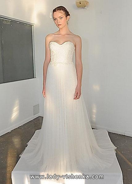 Прості весільні сукні фото - Marchesa