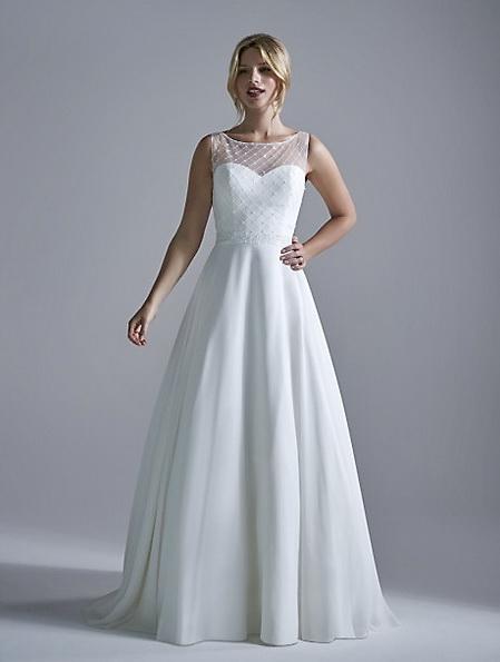 Просте весільну сукню 2016 - OPULENCE
