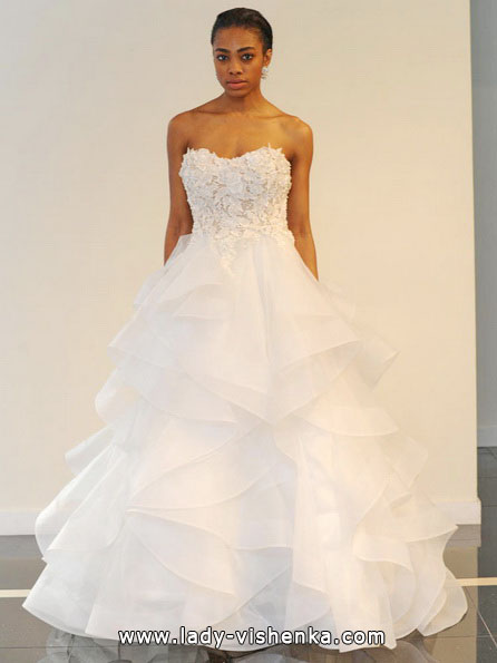 Просте весільну сукню 2016 - Yumi Katsura