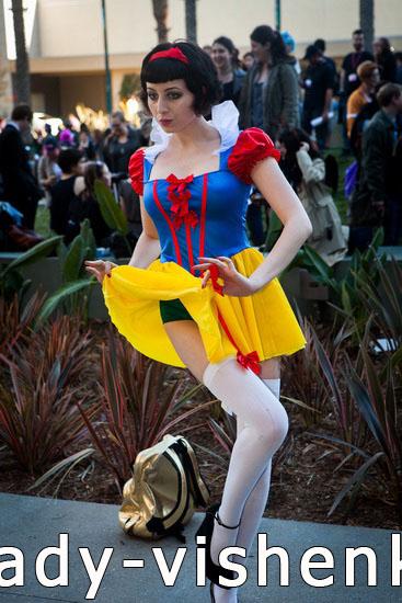 Сексі костюм Білосніжки на Хеллоуїн