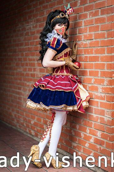 Оригінальний костюм Білосніжки на Хеллоуїн