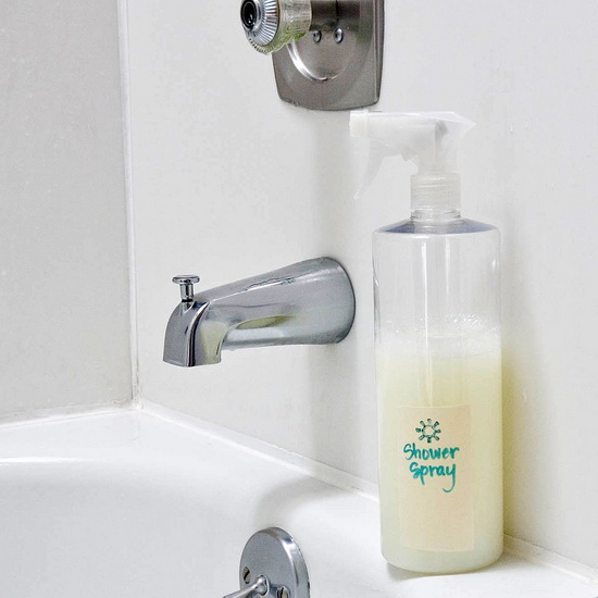 Засіб для миття ванної своїми руками