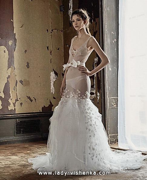 Прозорі весільні сукні фото 2016 - Vera Wang
