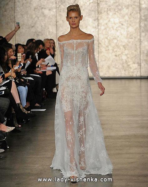 Прозорі весільні сукні 2016 - Inbal Dror