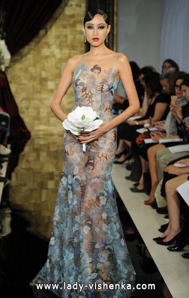 Прозоре весільну сукню - Theia
