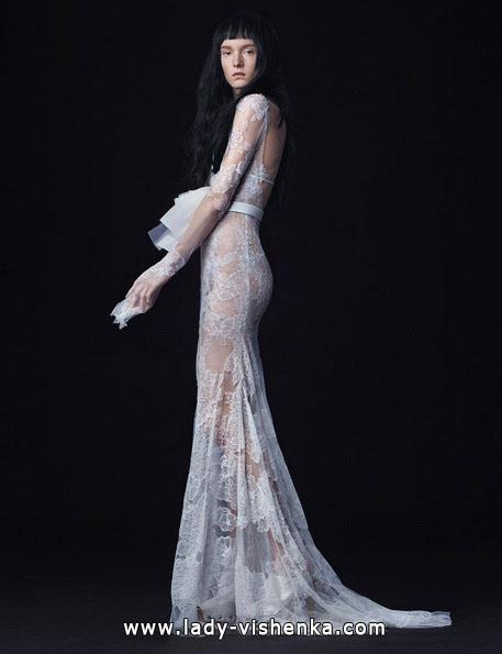 Прозорі весільні сукні 2016 - Vera Wang