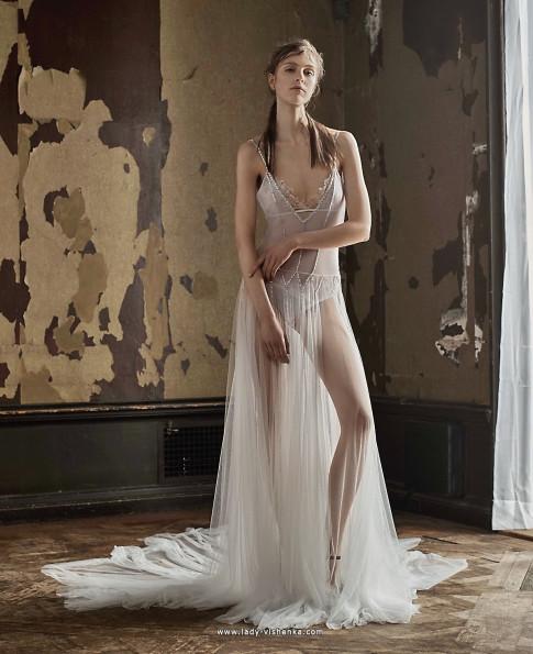 Прозорі весільні сукні - Vera Wang