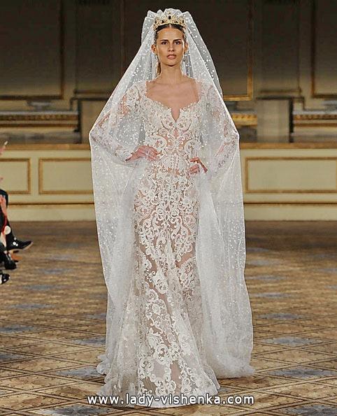 Прозоре весільну сукню - Berta