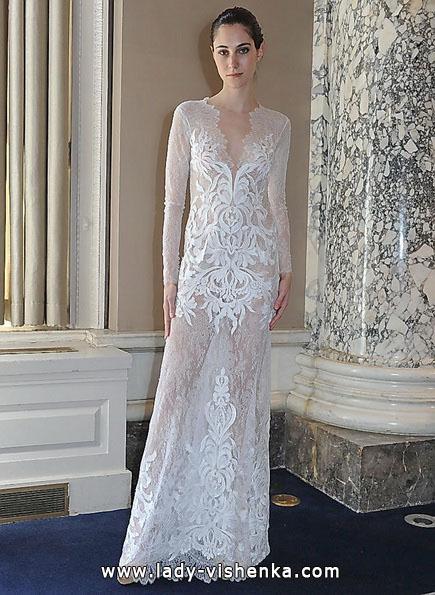 Прозоре весільну сукню - Christos Costarellos