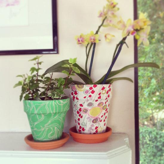Як прикрасити квітковий горщик