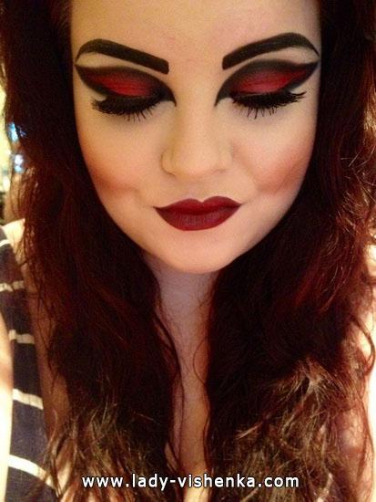 Вампір на Хеллоуїн - образ і макіяж