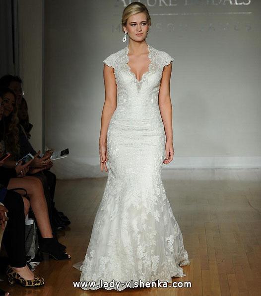 Весільні сукні з закритими плечима 2016 - Allure