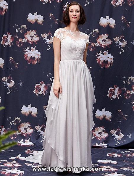 Весільні сукні з закритими плечима 2016 - Ivy & Aster