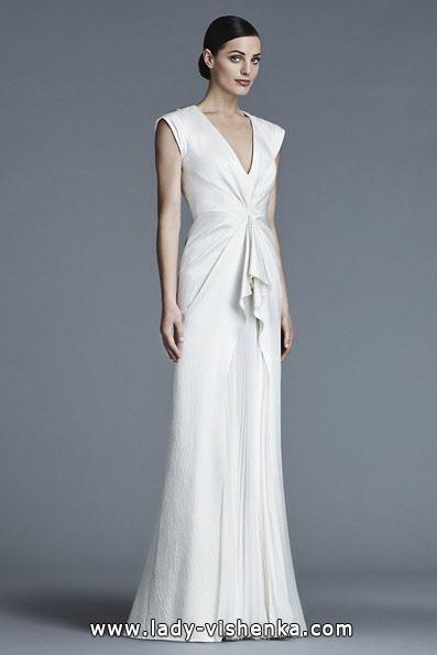 Весільні сукні з закритими плечима 2016 - J. Mendel