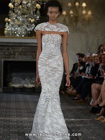 Весільні сукні з закритими плечима 2016 - Mira Zwillinger