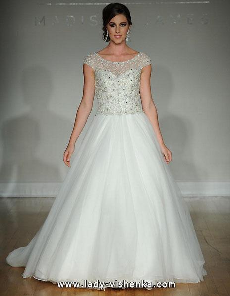Пишне весільні сукні з закритими плечима 2016 - Allure