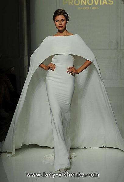 Весільні сукні з закритими плечима 2016 - Pronovias