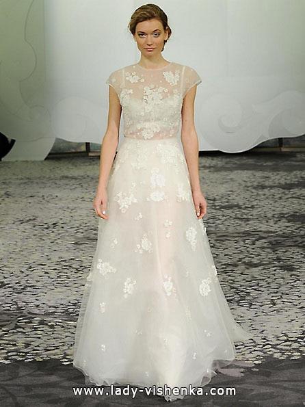 Весільні сукні з закритими плечима 2016 - Rivini