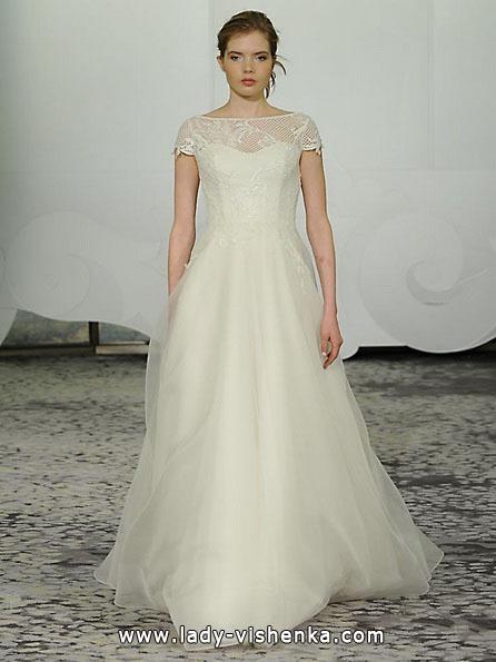 Пишні весільні сукні з закритими плечима 2016 - Rivini