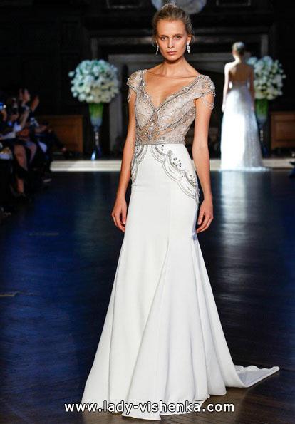 Весільні сукні з закритими плечима 2016 - Alon Livne