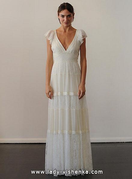 Весільні сукні з закритими плечима - Temperley