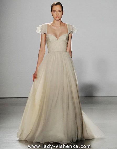 Весільні сукні з закритими плечима 2016 - Amsale