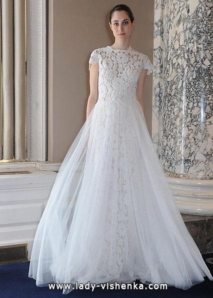 Весільні сукні з закритими плечима 2016 - Christos Costarellos