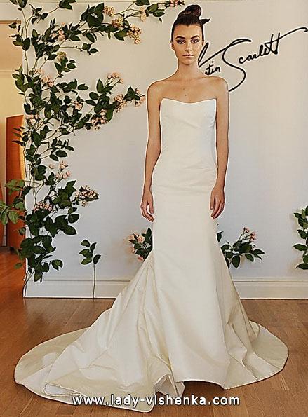 Весільну сукню русалонька зі шлейфом 2016 - Austin Scarlett