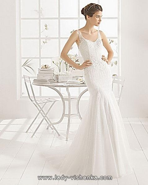 Весільну сукню русалонька зі шлейфом - Aire Barcelona