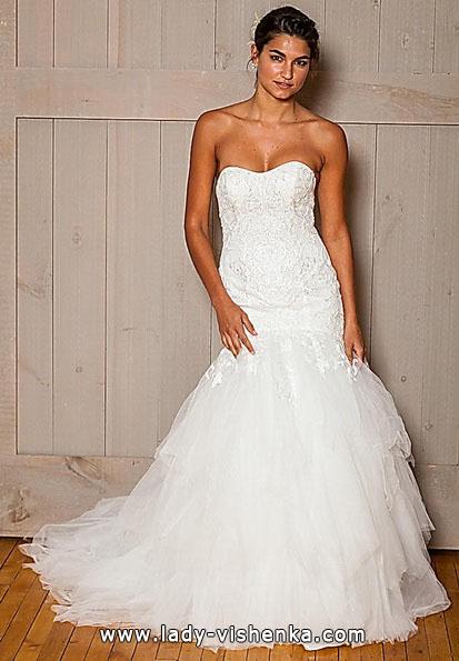 Весільну сукню рибка з шлейфом - david's Bridal