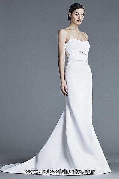 Весільну сукню рибка з шлейфом - J Mendel