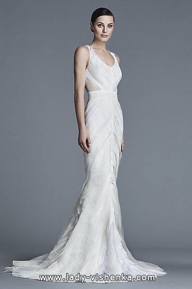 Весільну сукню русалонька зі шлейфом - J Mendel