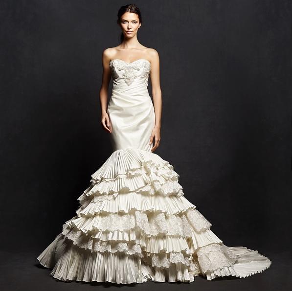 Весільну сукню русалонька зі шлейфом - Isabelle Armstrong