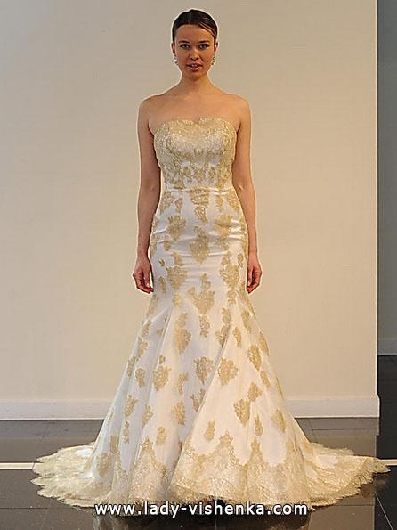 Весільну сукню русалонька зі шлейфом - Yumi Katsura