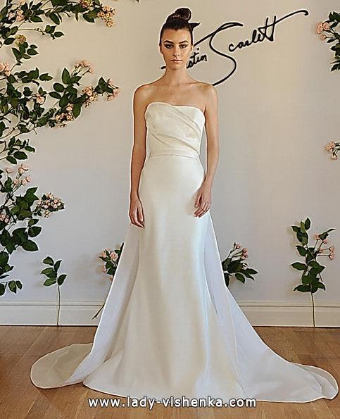Весільну сукню русалонька зі шлейфом - Austin Scarlett
