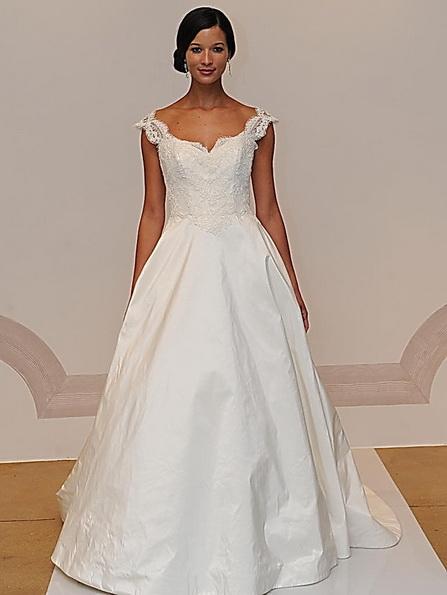 Весільну сукню з атласною спідницею Judd Waddell 2016