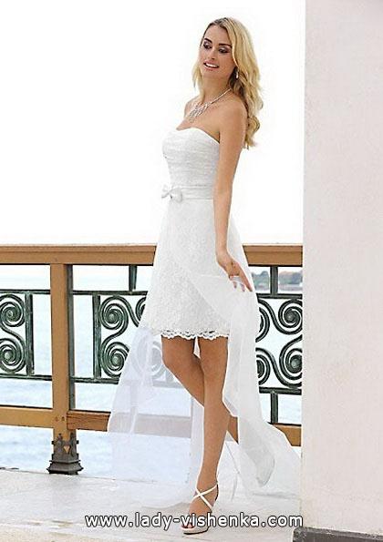 Весільну сукню короткий спереду 2016 - Lady Bird