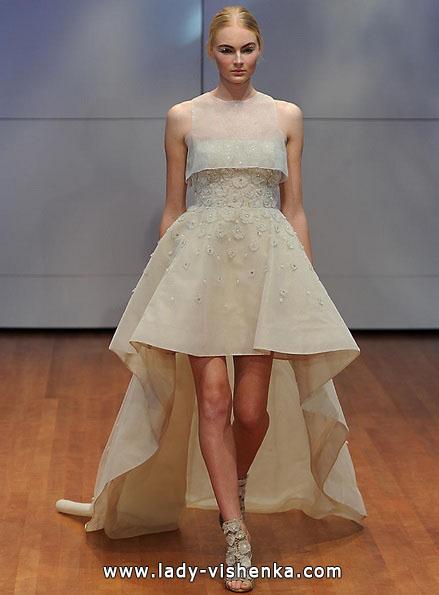Весільну сукню короткий спереду 2016 - Rita Vinieris