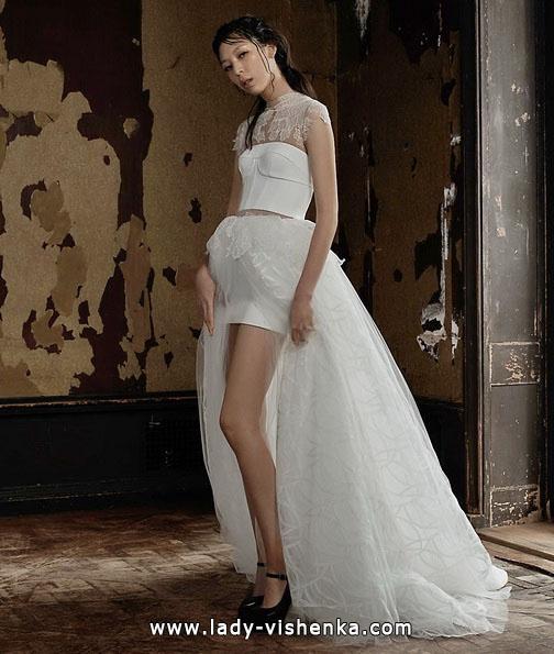 Весільну сукню короткий спереду - Vera Wang